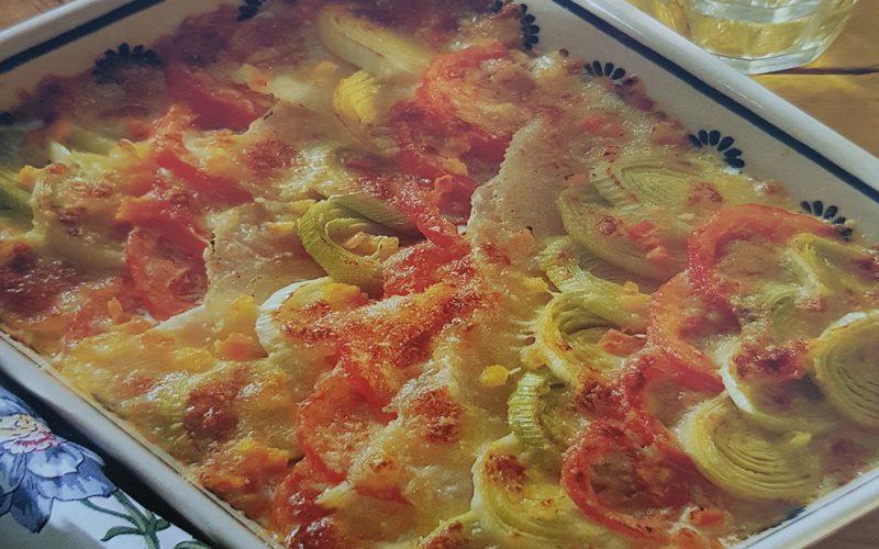 Am pregătit pentru voi o rețetă simplă, rapidă și ușoară pentru organism! Budincă de praz cu mozzarella. O rețetă bună și sănătoasă.